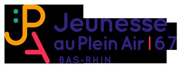Jeunesse au Plein Air - Bas-Rhin - 67 Logo