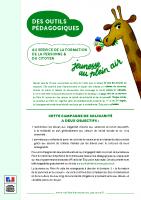 Outils pédagogiques – Campagne Elèves Solidaires 2016