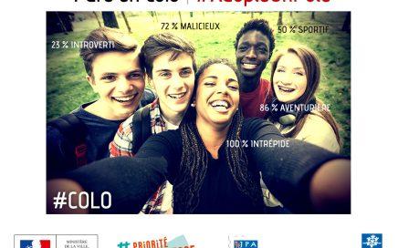 Des selfies pour faire connaitre les colos aux adolescents