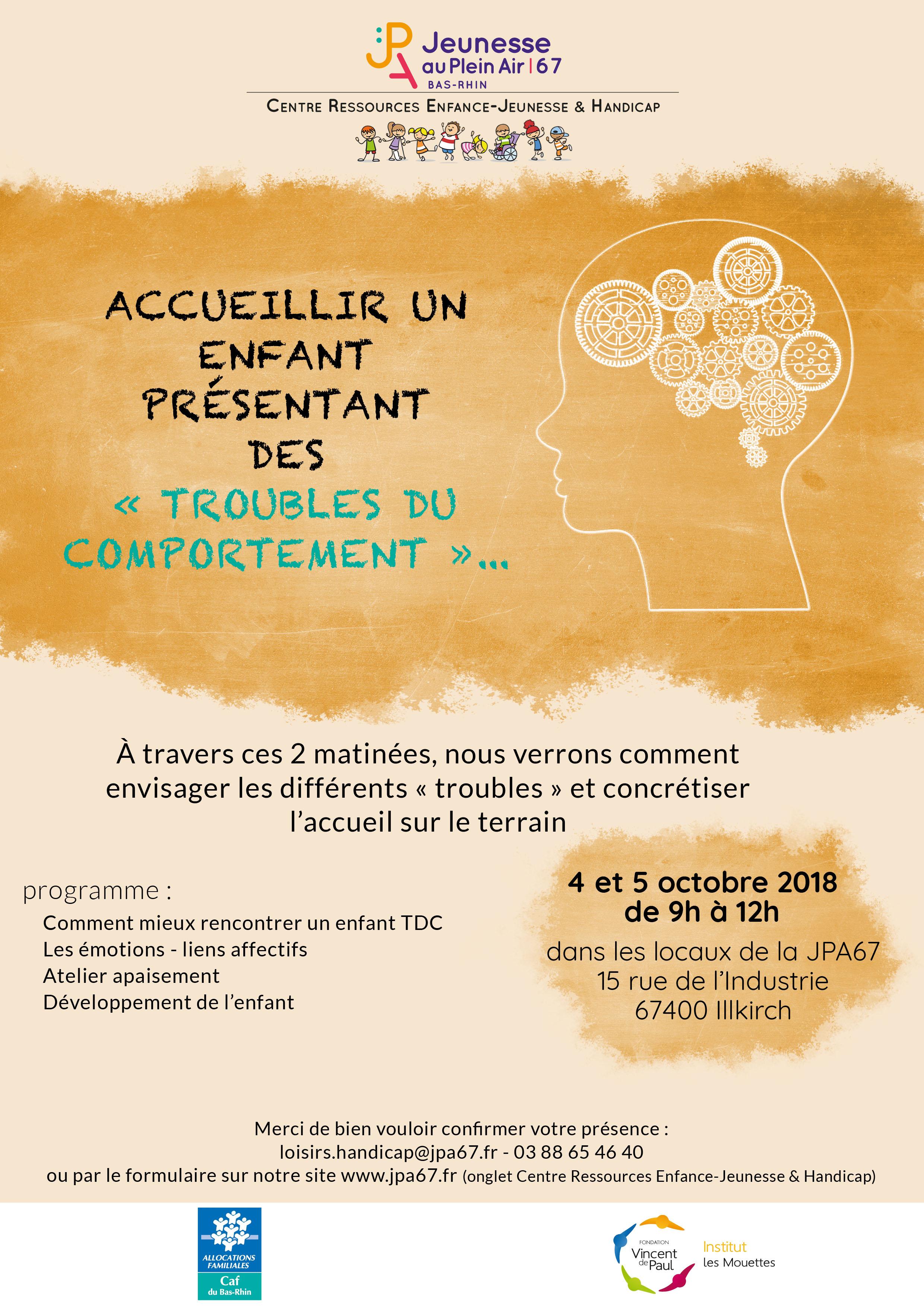 """Matinée """"TDC"""" - 4 et 5 octobre 2018"""